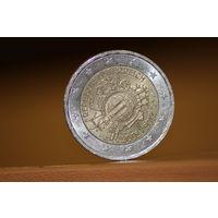 Монета 2 евро Австрия
