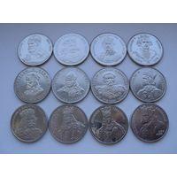 Польша Набор Короли 1979-1989 12 монет