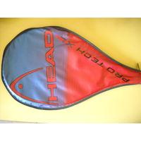 Теннисная ракетка Head с чехлом.