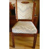 Старинное стул-кресло.Дерево-резьба.Нач.20 века.
