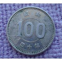 Япония. 100 йен 1965 г.