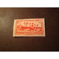 Французская Мартиника 1933 г.Город Бас-Пуэнт.