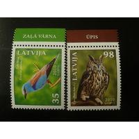 Латвия. 2010г. Птицы.