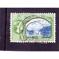 Тринидад и Тобаго. Ми- 155. Залив First Boca. 1935.