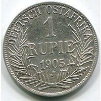 ГЕРМАНСКАЯ ВОСТОЧНАЯ АФРИКА - РУПИЯ 1905 J
