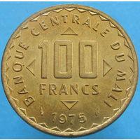 1к Мали 100 франков 1975 ФАО В КАПСУЛЕ (2-298) распродажа коллекции