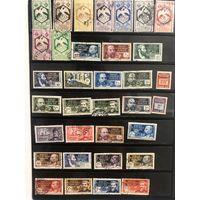 Большой лот марок Французской экваториальной Африки.  Много чистых дорогих марок. Все на фото!  С 1 руб!