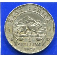 Британская Восточная Африка 1 шиллинг 1925 , Georg V , серебро