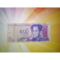 Венесуэла 1000 боливар 1998г