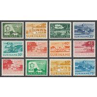 1965 Суринам 462-473 Самолеты