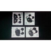 Китай 1985. Панды. Полная серия