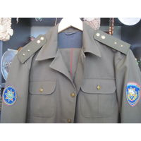 Мундир(китель и брюки) прапорщика МЧС РБ. Размер 48/3-4.