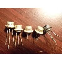 Транзисторы МП 39 (4 шт)+МП 39Б (1 шт) - Все одним лотом