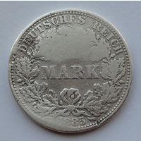 Германия - Германская империя 1 марка. 1885. A