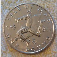 Остров Мэн 1 фунт 1979, KM# 44, вирениум