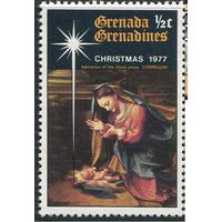 1977 Гренада живопись религия Рождество **