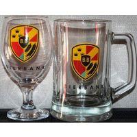"""Пивные кружки,бокалы,стаканы  с логотипом пивоварни """" """"Bierbank """""""", которых у меня нет."""
