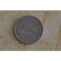 Новая Зеландия 6 пенсов 1960