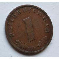 "Германия - Третий рейх 1 рейхспфенниг, 1938  ""A"" - Берлин 4-10-12"