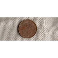 Финляндия 1 пенни 1963(Ah)