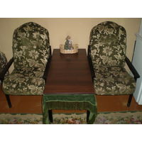 2 кресла ж/столик