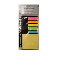 Яркие самоклеющиеся закладки-стикеры компании Tedi GmbH&Co, новые, Германия, качественные