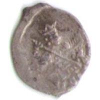 Копейка 1598 г. Федор Иоанович (Блаженный) Новгородский денежный двор _состояние XF+