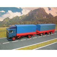 Модель грузового автомобиля DAF (1). Масштаб НО-1:87.