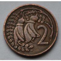 Новая Зеландия, 2 цента 1973 г.