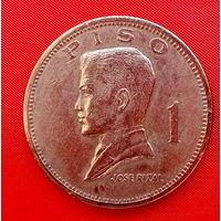 38-03 Филиппины, 1 песо 1972 г.