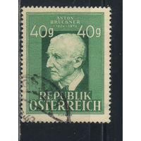 Австрия Респ 1949 Антон Брукнер 125-летие #941