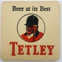 Подставка под пиво Tetley /Англия/