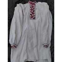 Сорочка мужская домотканая (рубашка, вышиванка), до 1912 г.