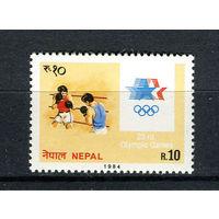 Непал - 1984 - Олимпийские игры - [Mi. 441] - полная серия - 1 марка. MNH.