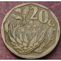 5593:  20 центов 1995 ЮАР