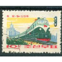 КНДР 1964 локомотив 1м гаш