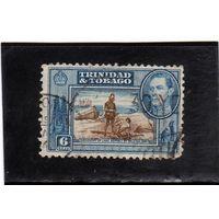 Тринидад и Тобаго. Ми-138. Открытие озера Асфальт.Серия: Король Георгий VI.1938