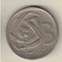 Чехословакия 3 крона 1965