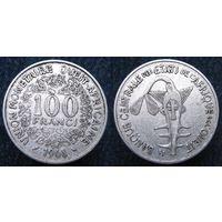 W: Западная Африка 100 франков 1968, западные африканские штаты (292)