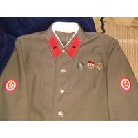 Стилизация кителя офицера Госбезопасности НКВД (до 1943г.) с муляжами наград.