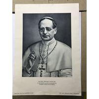 Portret ojca sw.PIUSA XI с оригинальным конвертом 1939 Г
