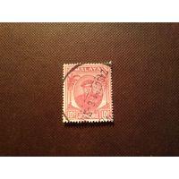 Малайские штаты  1949 г.Штат Джохор.Султан Ибрагим.