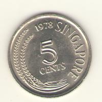 5 центов 1978 г.