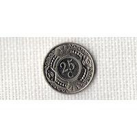 Антильские острова /Антилы/Антильские Нидерланды/ 25 центов 1996 /(D)
