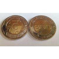 Алжир 200 динар, 2015, 50 лет Независимости /из ролла/