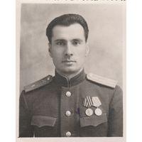 Майор артиллерии Гузий. 1951г