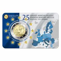 2 евро 2019 Бельгия Европейский валютный институт BU