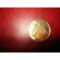 5 центов 2011 год Сингапур