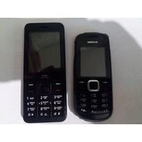 Два телефона ZTE F327S и Nokia-1661 одним лотом