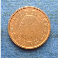 Бельгия 2 евроцента 2000